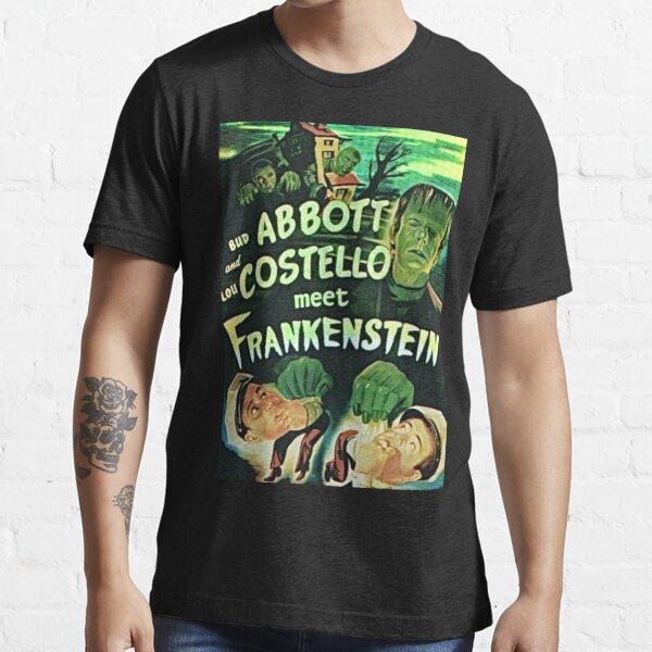 Abbott and Costello meet Frankenstein Essential T-Shirt