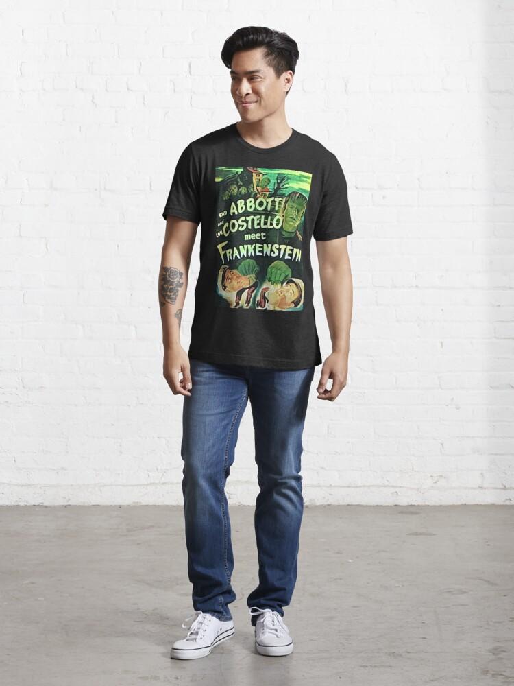 Alternate view of Abbott and Costello meet Frankenstein Essential T-Shirt