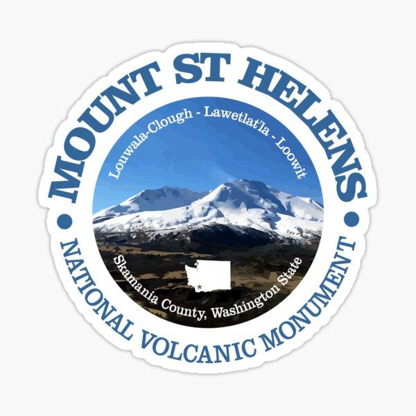 Mount St Helens (P) Sticker