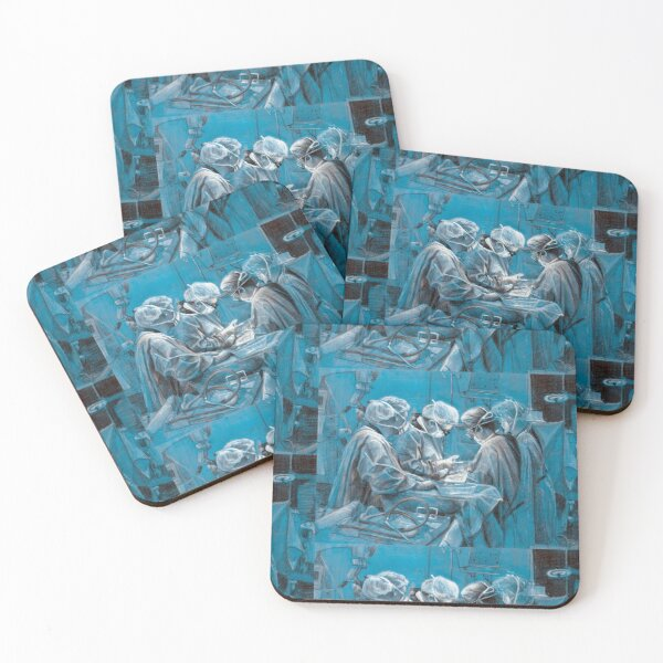 Perfection personified by Avril Thomas Coasters (Set of 4)