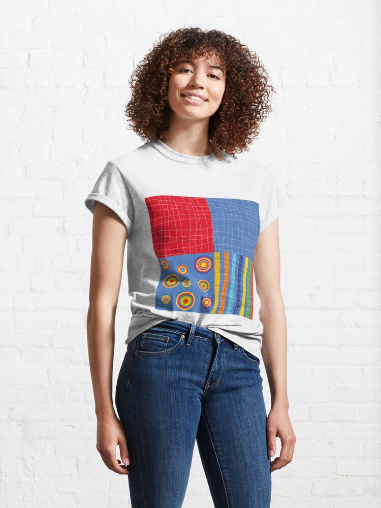Alternate view of Patchwork 1 Classic T-Shirt
