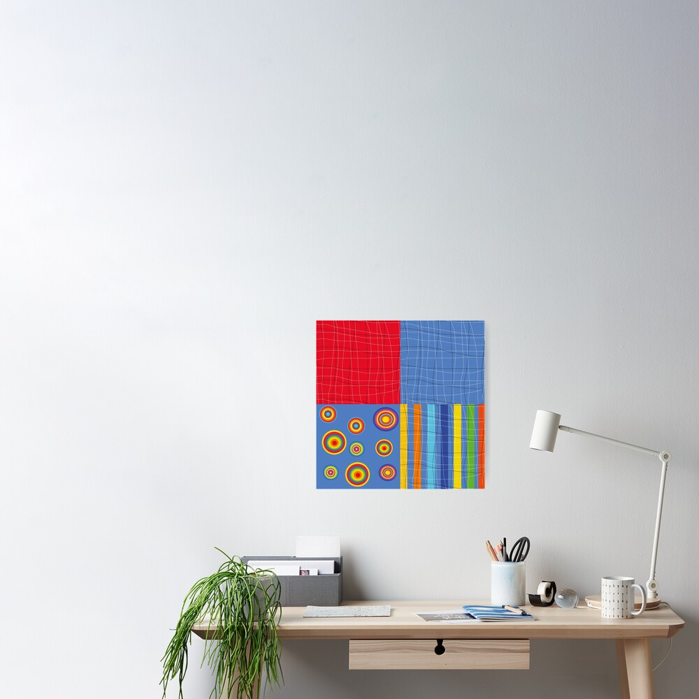 Patchwork 1 Poster