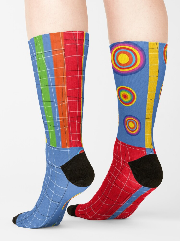 Alternate view of Patchwork 1 Socks