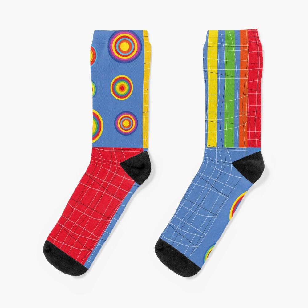 Patchwork 1 Socks
