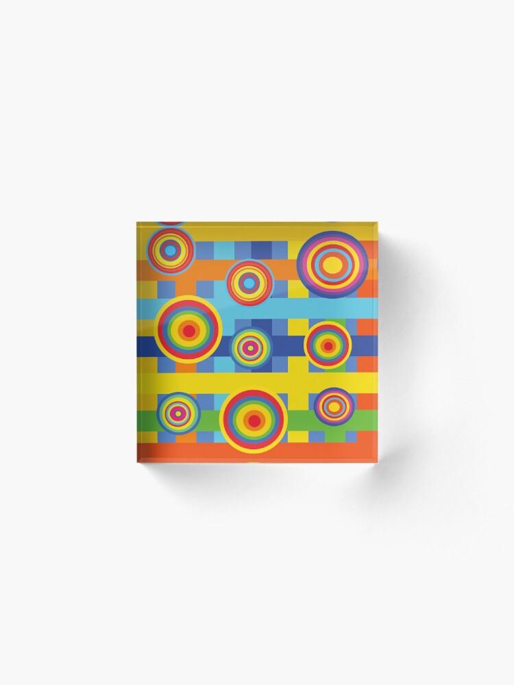 Alternate view of Lulu Acrylic Block