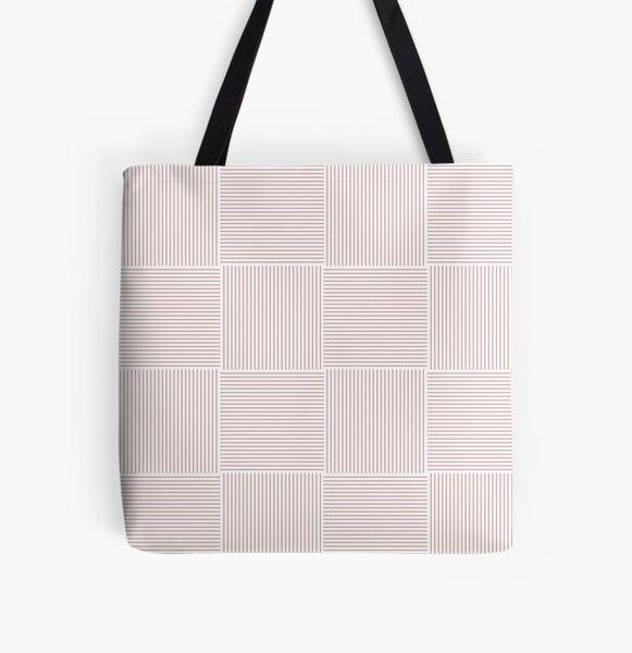 Tekst (Rose) All Over Print Tote Bag