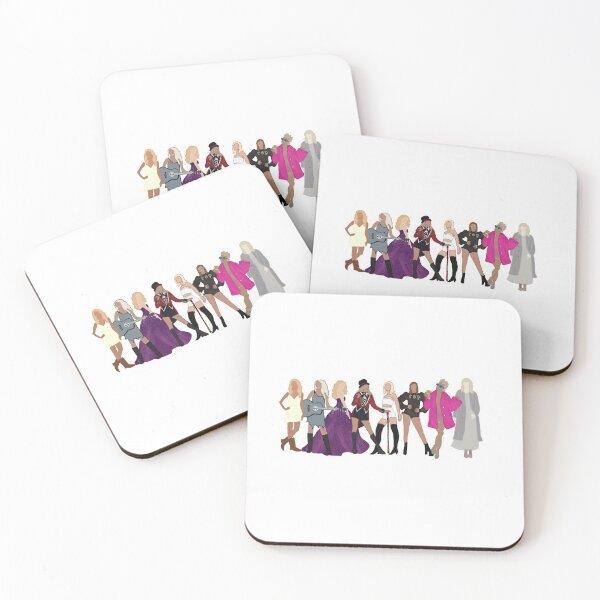 Taylor Swift Eras Coasters (Set of 4)