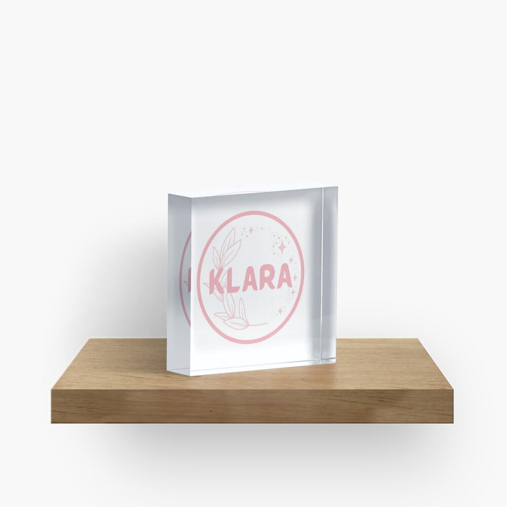 Klara Acrylic Block