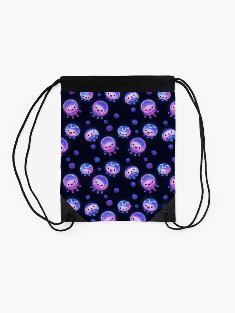 Alternate view of Baby jellyfish Drawstring Bag