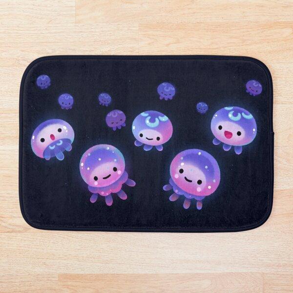 Baby jellyfish Bath Mat