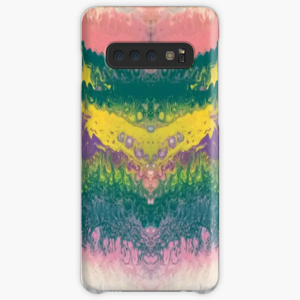"""Abstract Painting-""""South Beach Ocean Waves"""" Case & Skin for Samsung Galaxy"""