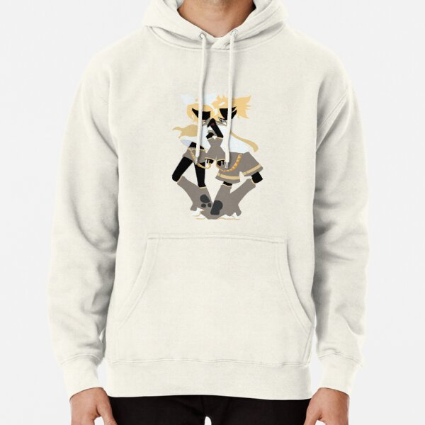 Kagamine Rin and Len Box Art Silhouette Pullover Hoodie