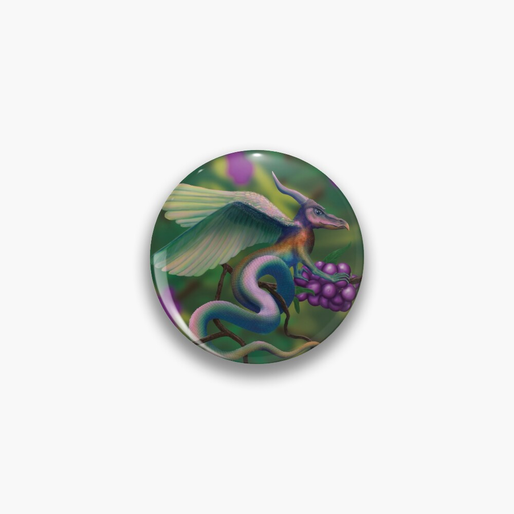 Dragonberry Drake Pin