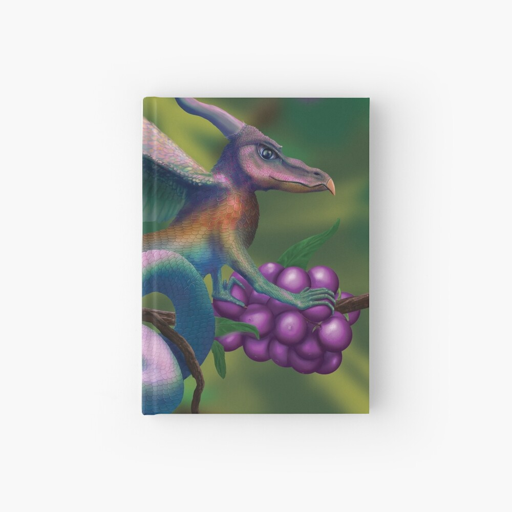 Dragonberry Drake Hardcover Journal