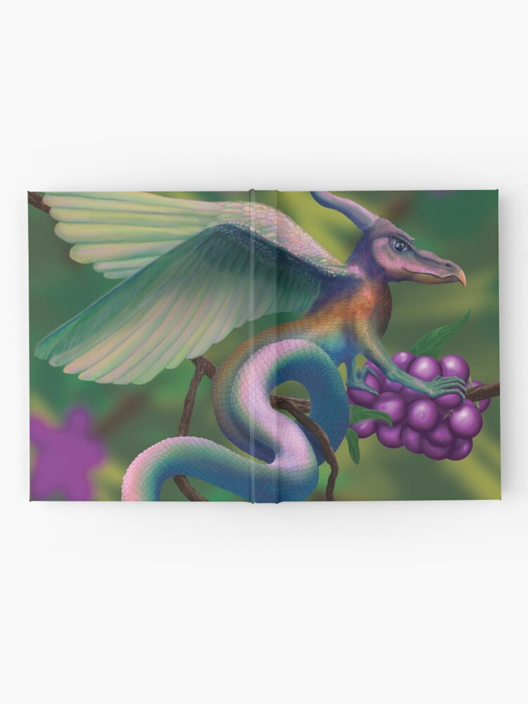 Alternate view of Dragonberry Drake Hardcover Journal