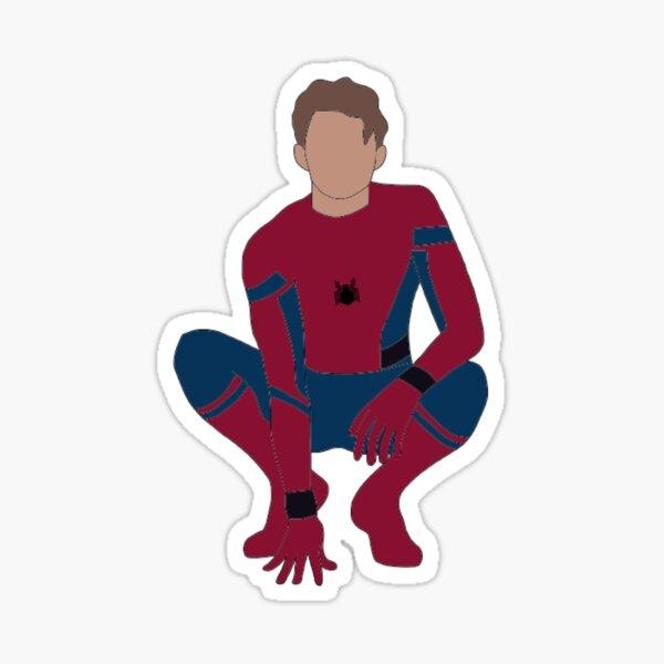 chico araña Pegatina