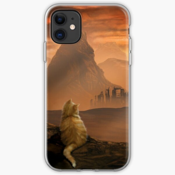 Kitten in the Wasteland iPhone Soft Case