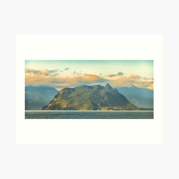 Anvil Island Art Print