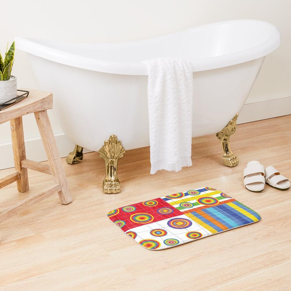 Patchwork 2 Bath Mat