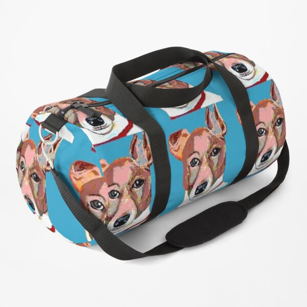Jack Russell Terrier Blue Duffle Bag