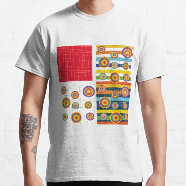 Patchwork 3 Camiseta clásica