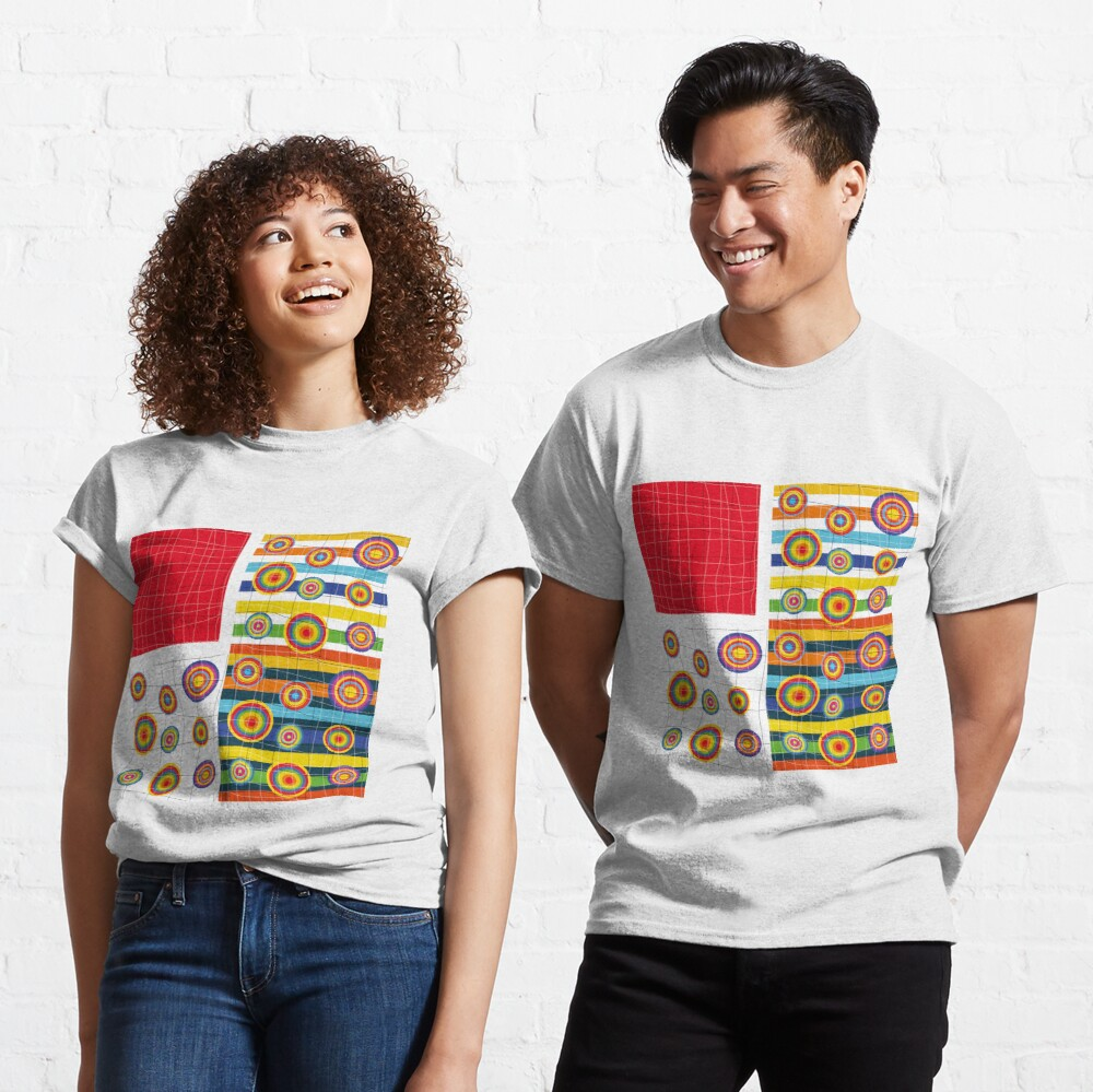 Patchwork 3 Classic T-Shirt