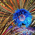 Aztec headdresses, Powwow, Hardeville, South Carolina by fauselr