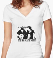 #SheriartyLives Women's Fitted V-Neck T-Shirt