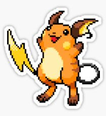 Pokemon - Raichu Sprite Sticker