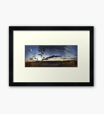 cloud panorama Framed Print