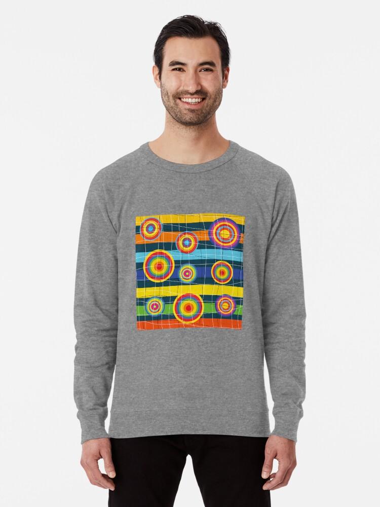 Alternate view of Planets Lightweight Sweatshirt