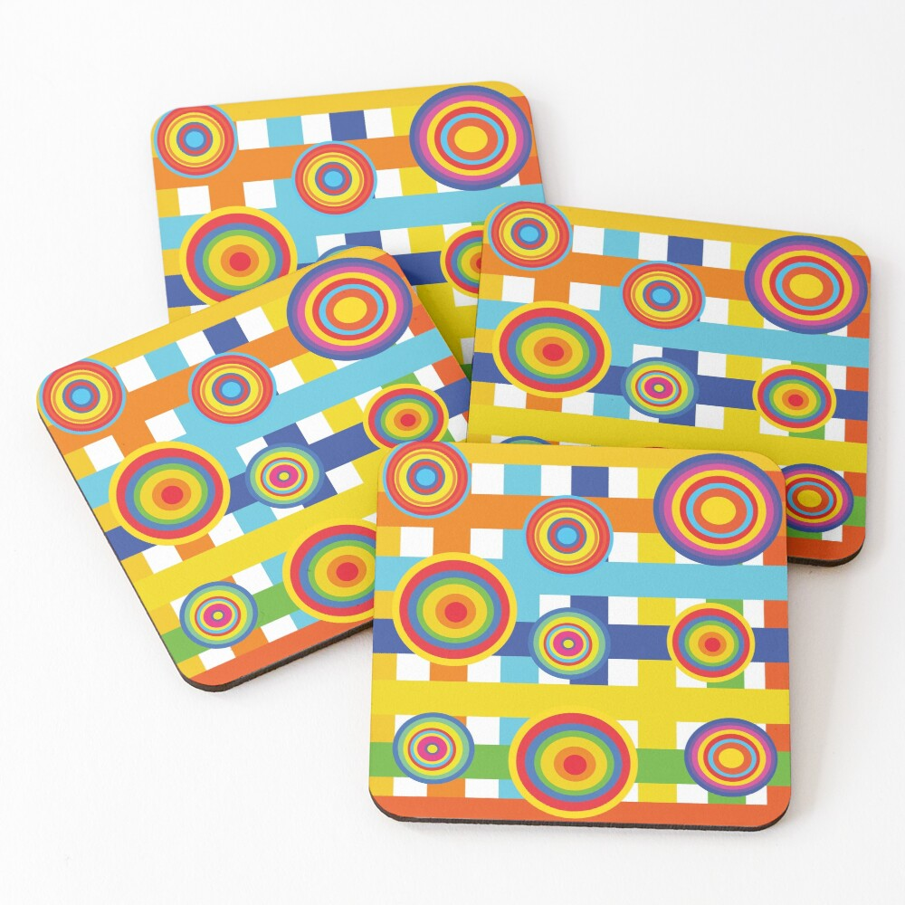 Planets 2 Coasters (Set of 4)