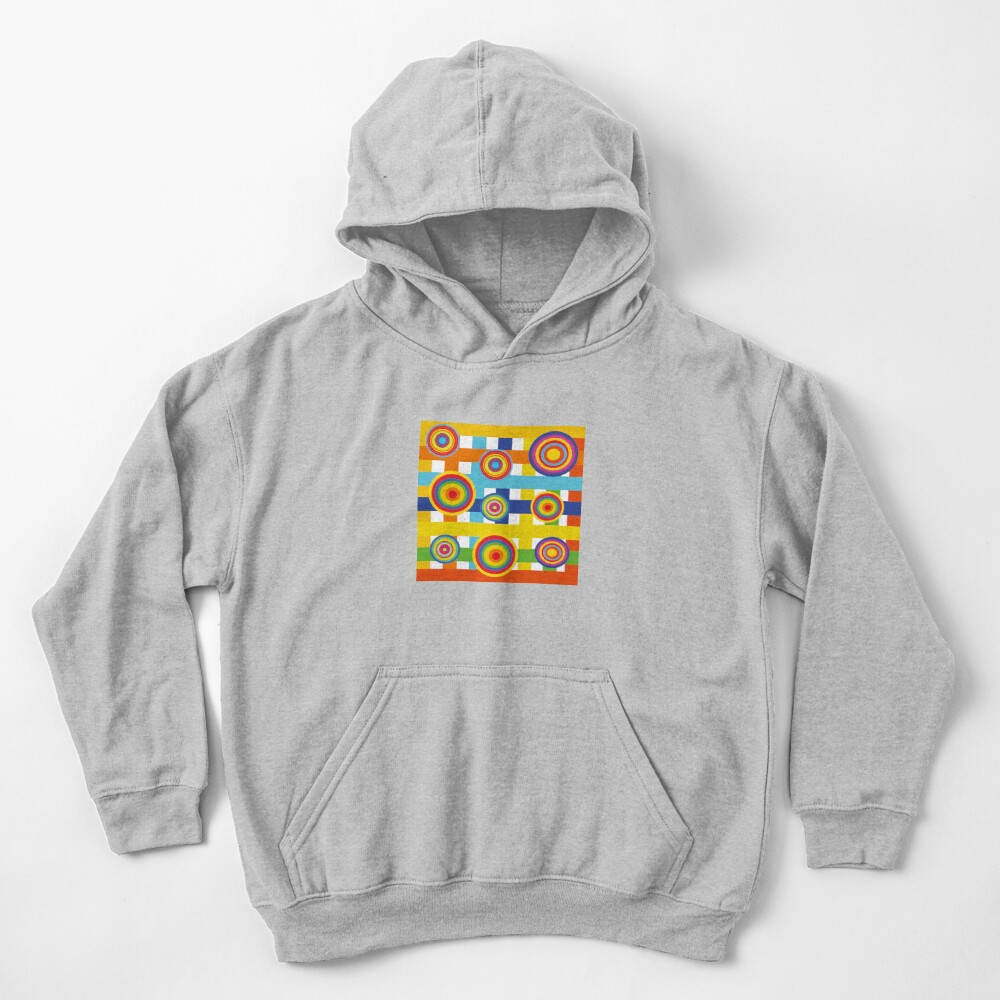 Planets 2 Kids Pullover Hoodie