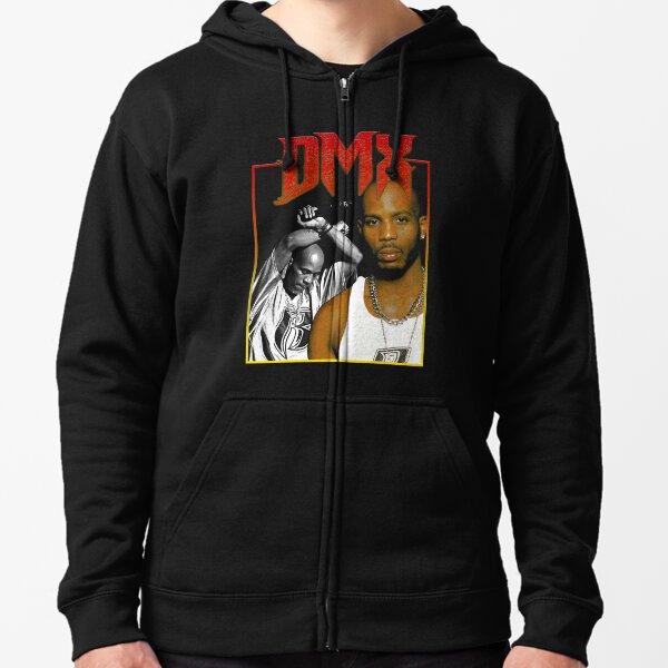 DMX Classic Rap des années 90 Veste zippée à capuche