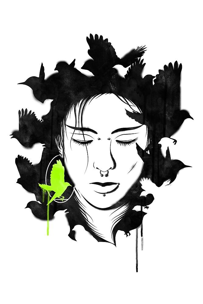 Girl Portrait - 4 by chetan adlak