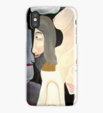 A Little Man's Self-Confrontation  iPhone Case/Skin