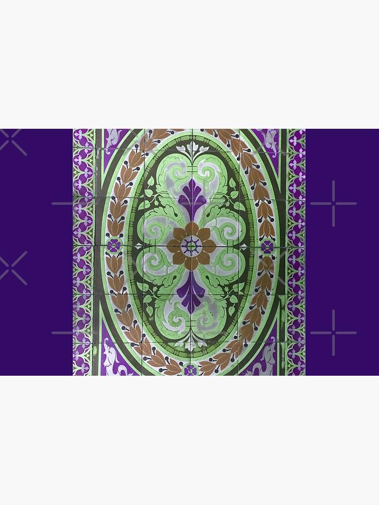 """Mosaic Tile-Floor Tile-Tilework- """"Sauced Restaurant""""  by Matlgirl"""