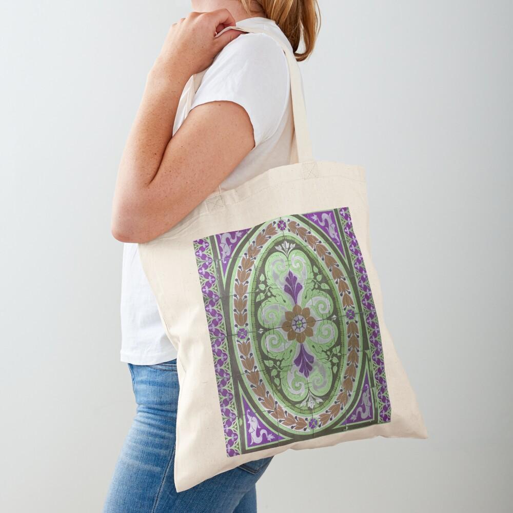"Mosaic Tile-Floor Tile-Tilework- ""Sauced Restaurant""  Tote Bag"