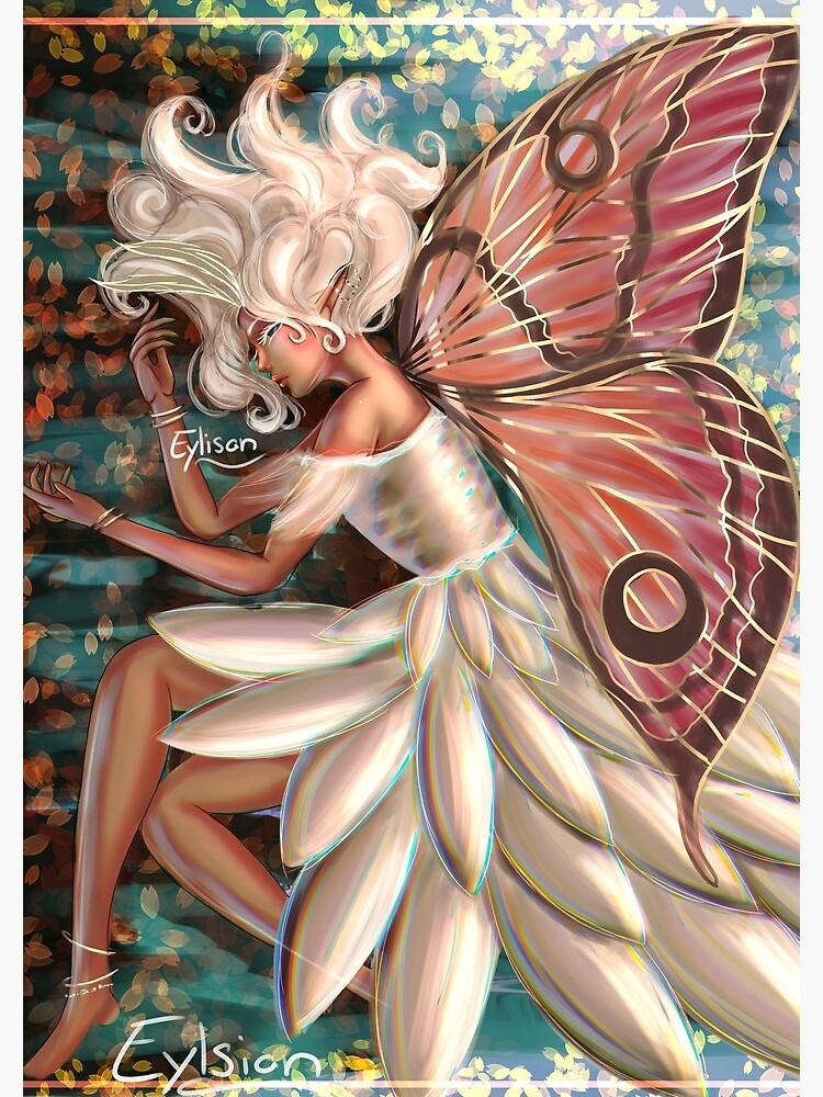 Moth Fairy by ArtistElysian