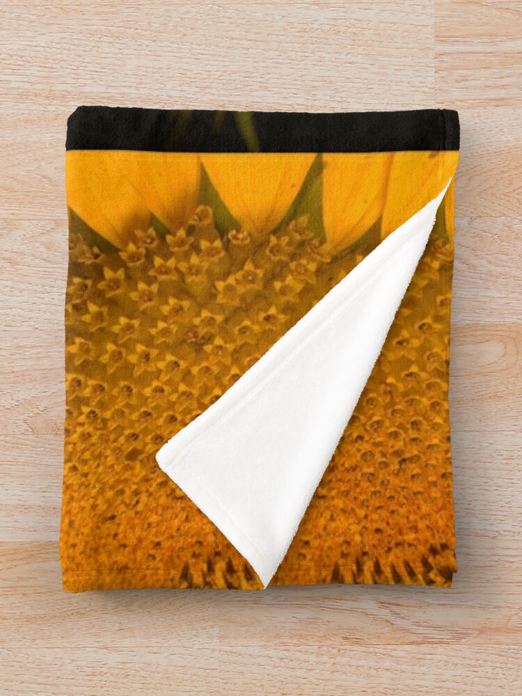 Alternate view of The  little tournasol By Yannis Lobaina Throw Blanket