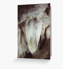 Heart of Timpanogos Cave #4 Greeting Card