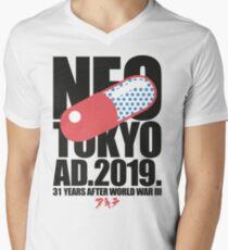 Neo-Tokyo (2.1) Mens V-Neck T-Shirt