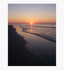 Sunrise Over The Atlantic Ocean Photographic Print