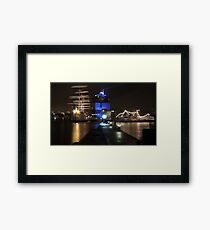 gothenburg harbour Framed Print