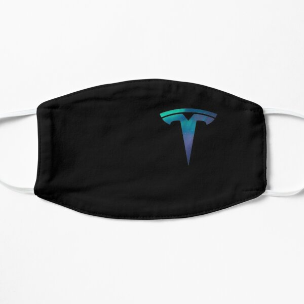 Tesla Logo Space Mask