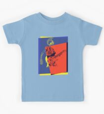 Mohawk Punk Rocker Guitarist Kids Clothes