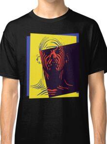 Pop Art Outline Man Classic T-Shirt