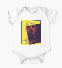 Pop Art Outline Man Kids Clothes