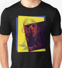 Pop Art Outline Man Unisex T-Shirt