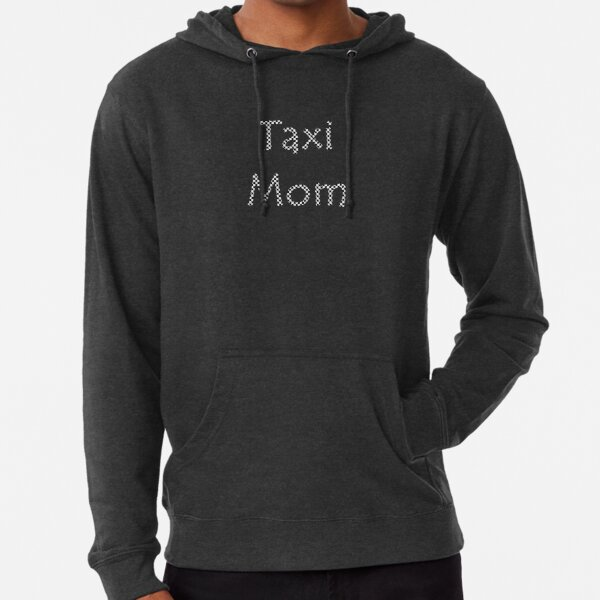 Checkered Taxi Mom Lightweight Hoodie